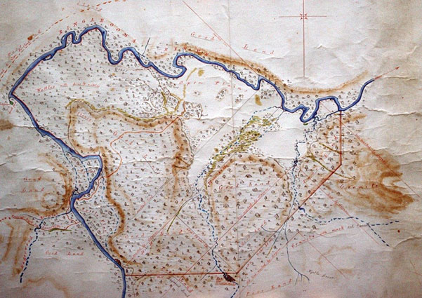 James Scott Plan of Braxholm