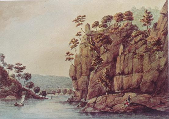 The Gorge 1808: Still a recognisable Aboriginal Landscape.