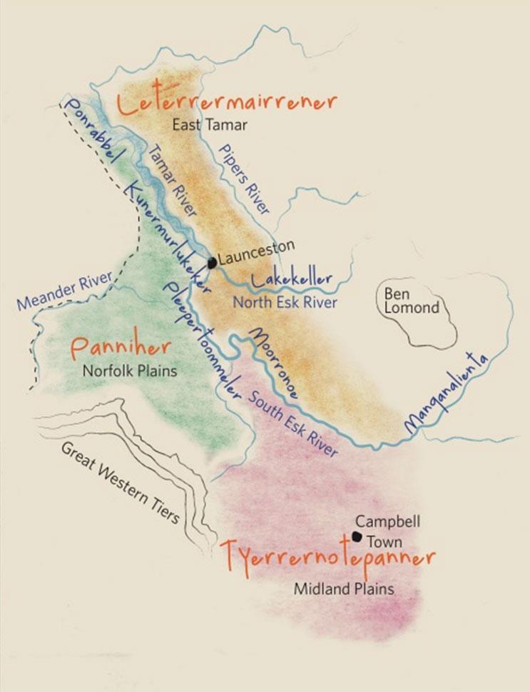 Stoney Creek Tribe Map